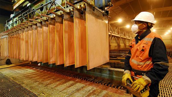 Produccion peruana de cobre crecio