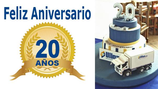 ¡ Feliz 20 aniversario Ulloa S.A !